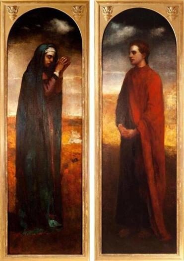 "La Farge's ""The Virgin and St. John the Evangelist at the Foot of the Cross"""